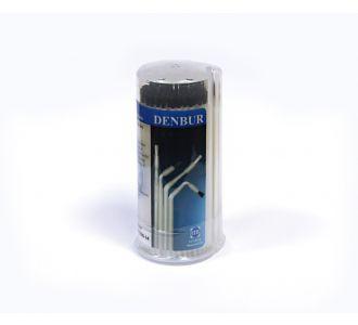 Аппликаторы Denbur Master-Brush черные, короткие, диспенсер, 125шт