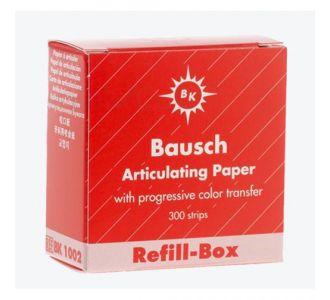 Бумага артикуляционная Bausch BK 1002