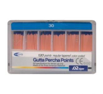 Гуттаперчевые штифты Meta Dental №30 (120шт)