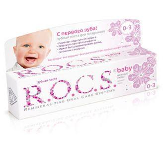 Зубная паста ROCS Baby Аромат Липы 45г
