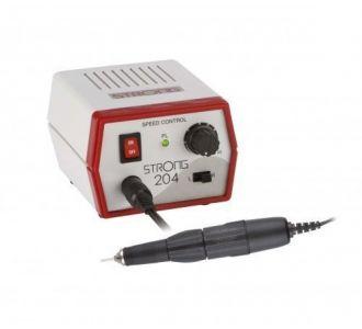 Микромотор зуботехнический Saeshin Strong 204/102L щеточный, с функцией реверса