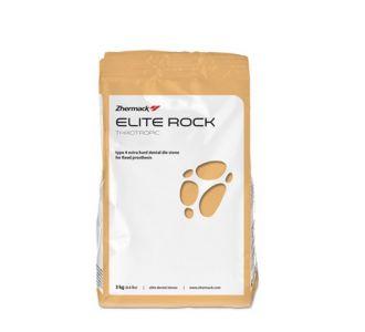 Гипс Zhermack Elite Rock Fast 4 класс 3кг песочно-коричневый С410150