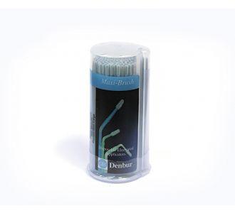 Аппликаторы Denbur Maxi-Brush голубые, малые, диспенсер 150шт