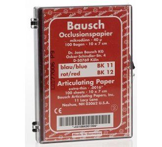 Бумага артикуляционная Bausch BK 12