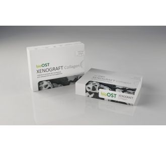 Гранулы bioOST XENOGRAFT Collagen  с коллагеном 0.25 - 1.0мм, XCOL-1-05