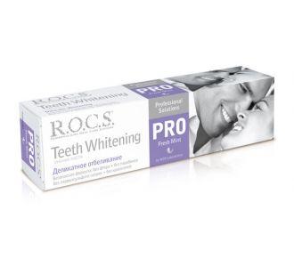 Зубная паста ROCS PRO Sweet Mint Деликатное Отбеливание 135г