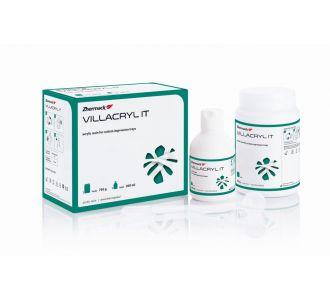 Пластмасса Villacryl  IT цвет зеленый, 750г + 200мл, Zhermapol
